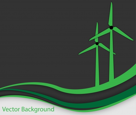 Green Energy Design Element      Vector