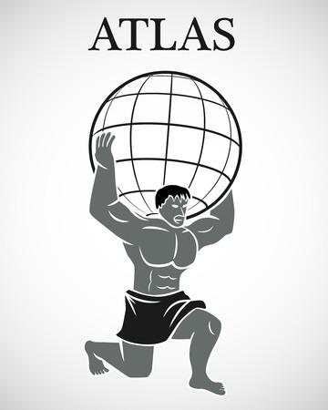 Gestileerde Atlas