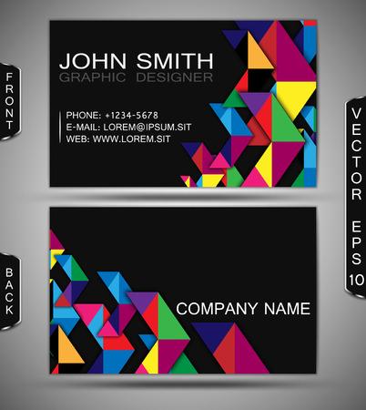businesscard: Modern Business-Card Set   EPS10 Vector