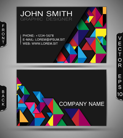 businesscard: Modern Business-Card Set     Illustration