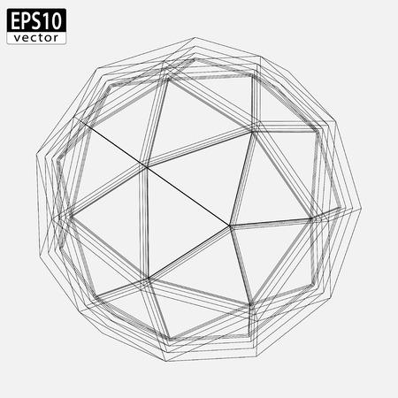 Abstract Atom Design    Vector