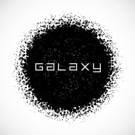 Modern Galaxy Design   EPS10 Vector Vector