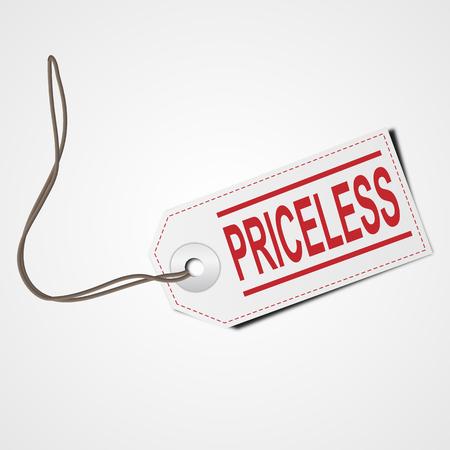 priceless: Priceless    EPS10 Vector Illustration