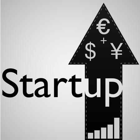 sponsorship: StartUp    EPS10 Vector Illustration