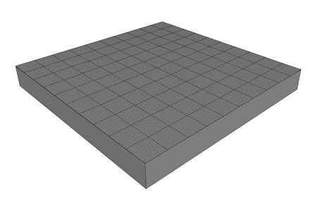 Scene Plate   EPS10 Vector Vector