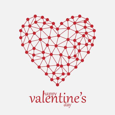 happy valentine s day: Happy Valentine s Day   EPS10 Vector Illustration