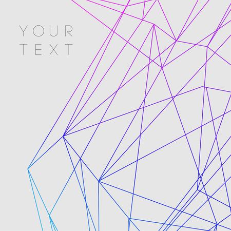 abstraktní: Barevné Abstraktní linie