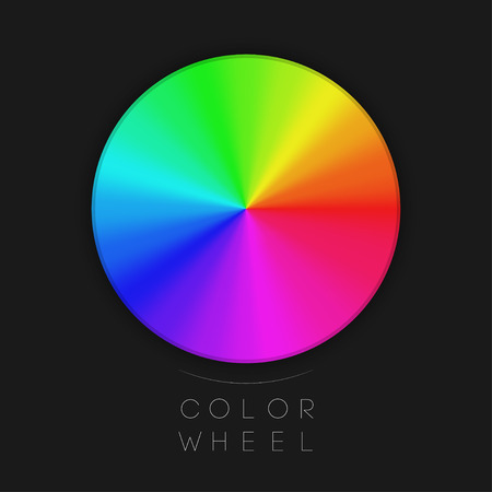 chromatic color: Color Wheel   EPS10 Vector