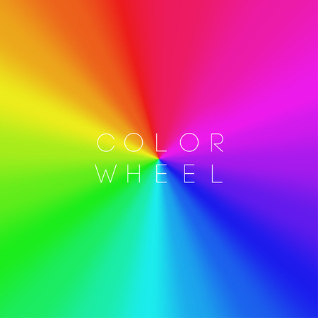 Color Wheel EPS10 Vector Banque d'images - 30510440