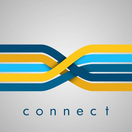 EPS10 ベクターを接続します。