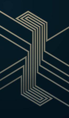 Modern Geometric Symbol