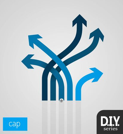 do it yourself: Do It Yourself - Cap 1  Easy to use  EPS10 Vector Illustration