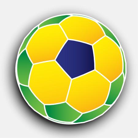 Abstract Soccer Ball  EPS10 Vector