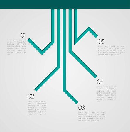 別の方法インフォ グラフィック EPS10 ベクトル  イラスト・ベクター素材
