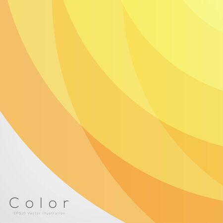 黄色 EPS10 ベクトルのデザインのための抽象的な背景 写真素材 - 51785689