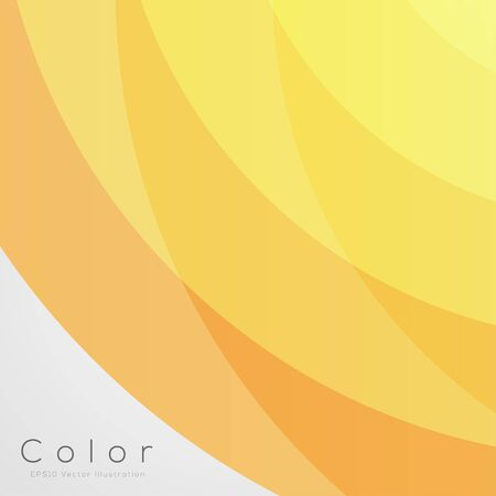 Abstract Background for Design Yellow  EPS10 Vector