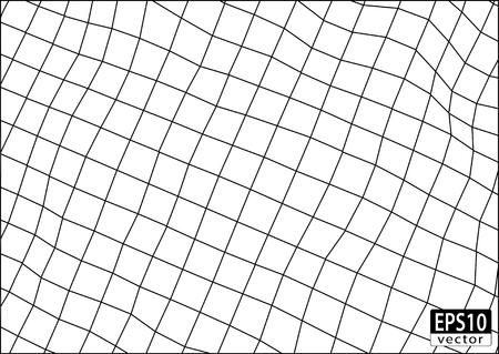 3D Wireframe Volume Иллюстрация