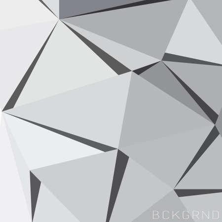 抽象的なデザインのポリゴン