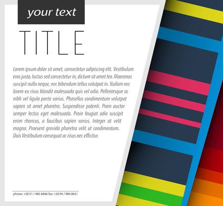 originalidad: Modern Card Design