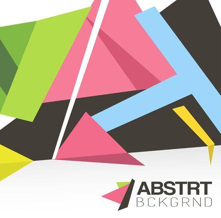 Modern colorful version  Vector Background Иллюстрация