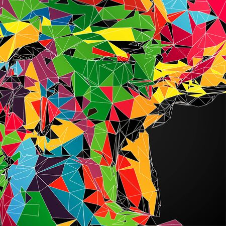 eps10: Abstract shapes background EPS10 Vector Illustration