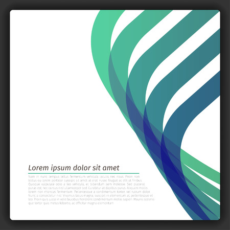 vector lines: Colorful Abstract Template EPS10 Vector Lines Illustration