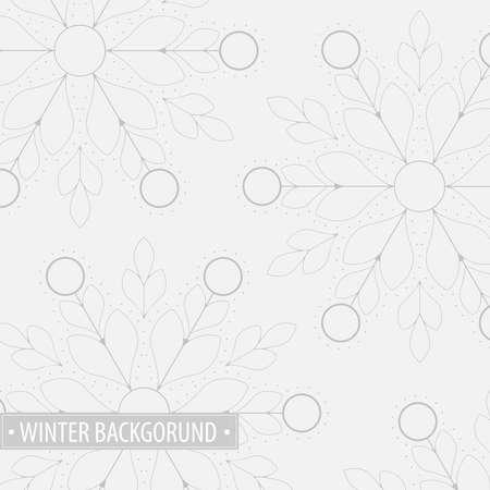 冬の背景 EPS10 ベクトル  イラスト・ベクター素材