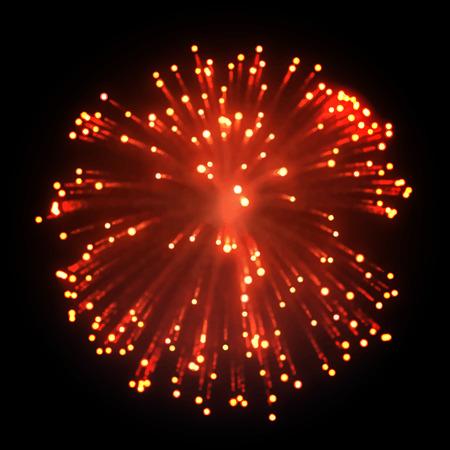 Firework  EPS10 Vector