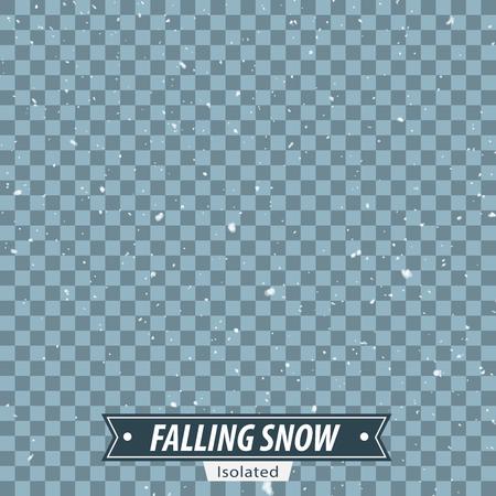 落下の雪 EPS10 ベクトルを分離 写真素材 - 51749645