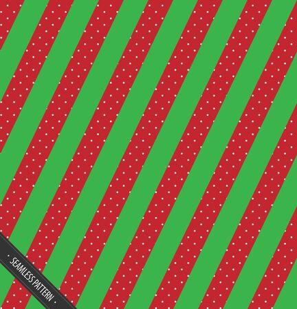 シームレスな冬柄デザイン。赤と緑のスレートふき線雪 EPS10 ベクトルで  イラスト・ベクター素材