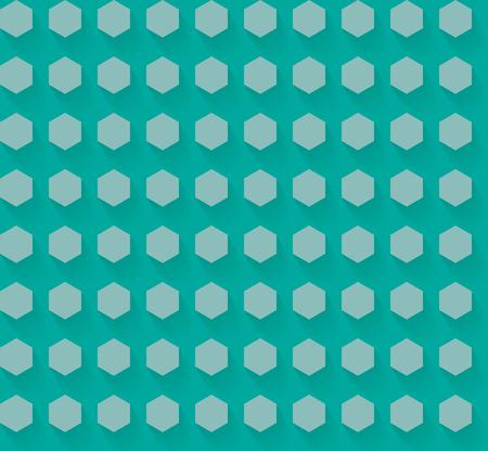影 EPS10 ベクトルとフラットの六角形パターン 写真素材 - 51755940