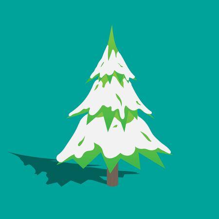 Christmas Tree  EPS10 Vector Иллюстрация