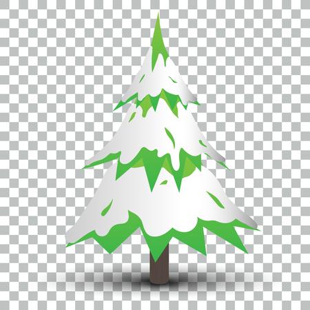 影 EPS10 ベクトルと分離のクリスマス ツリー 写真素材 - 51756181