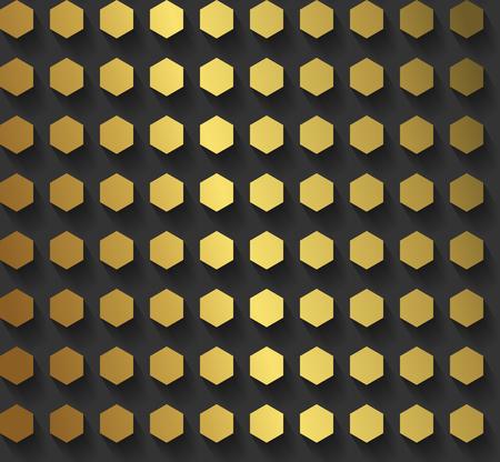 高級ゴールド パターン EPS10 ベクトル