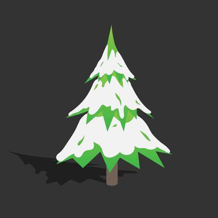 クリスマス ツリー EPS10 ベクトル 写真素材 - 51756296
