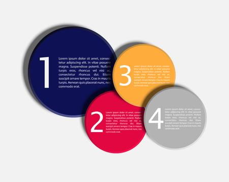 モダンなデザイン レイアウト EPS10 ベクトル