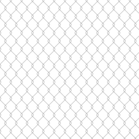 Isolated Seamless Fence Pattern  EPS10 Vector
