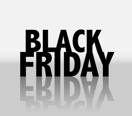 Black friday sale banner  EPS10 Vector Иллюстрация