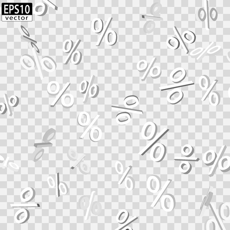 価格下落ホワイト EPS10 ベクトル  イラスト・ベクター素材