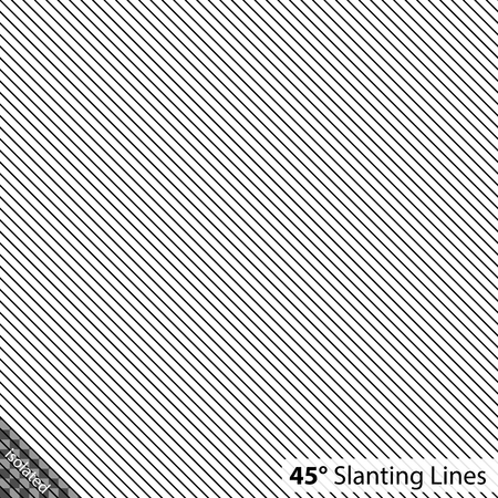 slanting: Simple 45 degree Slanting Lines