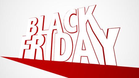 黒 Firday 販売バナー EPS10 ベクトル ホワイト