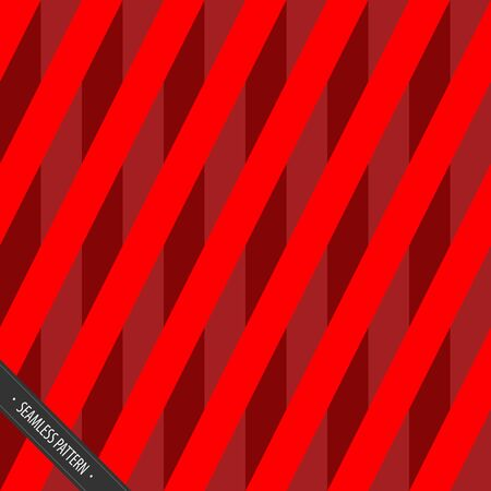 Seamless Red Wrapping Paper Pattern Vector EPS10