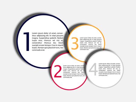 choose a path: Vector EPS10 Modern Design Layout