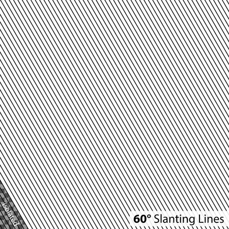シンプルな 60 度の斜め線  イラスト・ベクター素材