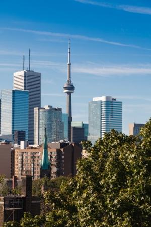 Downtown Toronto skyline with CN Tower Stock Photo - 18903054