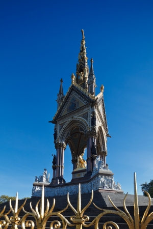 The Albert Memorial in Kensington Gardens, London, England photo