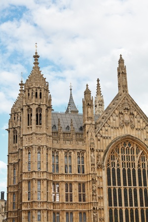 Palace of Westminster (Houses of Parliament) detail, London, UK photo