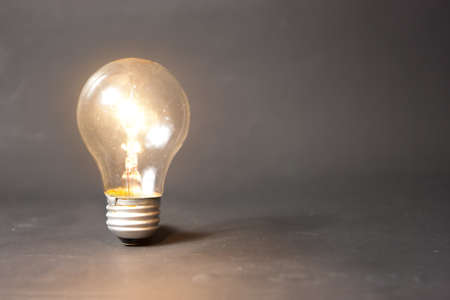 new idea: bright idea concept with light bulb