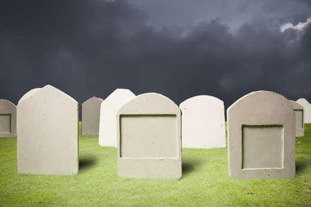 angel cemetery: photo of graveyard at dark night