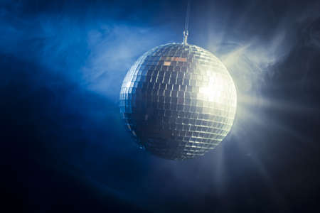 photo of a shinny disco ball photo